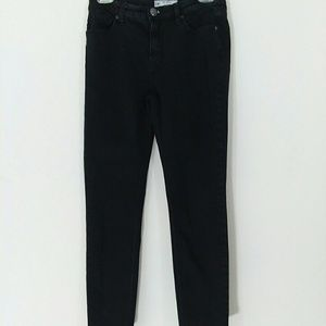Free People Black Ankle Skinny Jeans Size 26